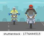 european traffic police officer ... | Shutterstock .eps vector #1776444515