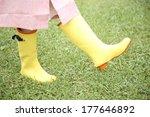 feet of japanese woman wearing... | Shutterstock . vector #177646892