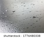 water drops on the black... | Shutterstock . vector #1776480338