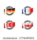 country of origin marking set   ... | Shutterstock .eps vector #1776499652