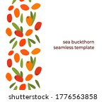 seamless design with sea... | Shutterstock .eps vector #1776563858