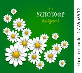 floral background with...   Shutterstock .eps vector #177656912
