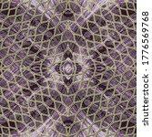 Gold Lace Seamless Pattern....