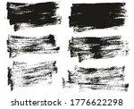 flat paint brush thin short...   Shutterstock .eps vector #1776622298