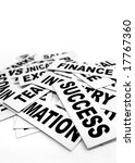 close up of business new... | Shutterstock . vector #17767360