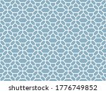 the geometric pattern with... | Shutterstock .eps vector #1776749852