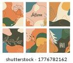 set of autumn abstract fluid...   Shutterstock .eps vector #1776782162