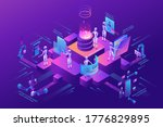 robotic process automation... | Shutterstock .eps vector #1776829895