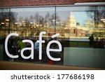 exterior of a cafeteria in...