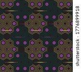 hexagon pattern like honeycomb... | Shutterstock .eps vector #1776899918