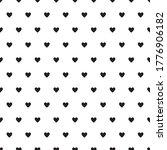 heart seamless pattern  endless ... | Shutterstock .eps vector #1776906182