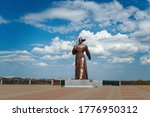 monument to a soldier on castle ... | Shutterstock . vector #1776950312