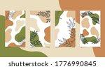 social media backgrounds...   Shutterstock .eps vector #1776990845
