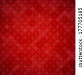 red texture background . vector ... | Shutterstock .eps vector #177705185