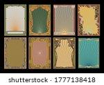 Art Nouveau Frame Set 1920s...