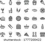thin line gray tint vector icon ...   Shutterstock .eps vector #1777200422