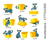 english prepositions of place... | Shutterstock .eps vector #1777212305