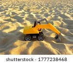 Yellow Plastic Excavator In...