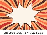 splash or speech bubble pop art.... | Shutterstock .eps vector #1777256555
