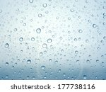close up of water drops on... | Shutterstock . vector #177738116