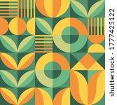 abstract geometric vector... | Shutterstock .eps vector #1777425122