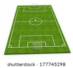 soccer stadium | Shutterstock . vector #177745298
