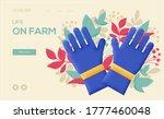 farm gloves concept flyer  web...