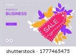 price tag icon concept flyer ...