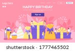 gifts concept flyer  web banner ...