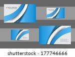 business card design | Shutterstock .eps vector #177746666