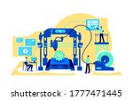 process automation flat concept ... | Shutterstock .eps vector #1777471445