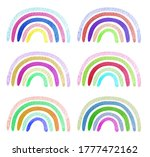 watercolor illustration with... | Shutterstock . vector #1777472162