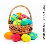 Colorful Handmade Easter Eggs...