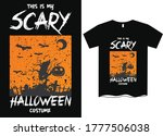 this is my scary halloween...   Shutterstock .eps vector #1777506038