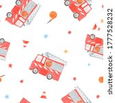 beautiful seamless pattern with ... | Shutterstock . vector #1777528232