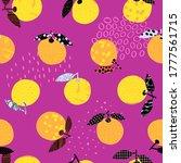 fresh citrus fruit tropical... | Shutterstock .eps vector #1777561715