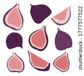 set of vector figs. collection... | Shutterstock .eps vector #1777577522