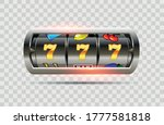 vector illustration slot... | Shutterstock .eps vector #1777581818
