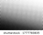 abstract dots background. black ... | Shutterstock .eps vector #1777783835