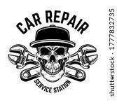 car repair. service station.... | Shutterstock .eps vector #1777832735