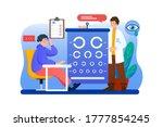 female optometrist character in ...