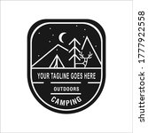 outdoor and adventure logo... | Shutterstock .eps vector #1777922558