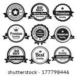 premium high quality money back ... | Shutterstock .eps vector #177798446