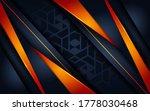 modern dark navy with... | Shutterstock .eps vector #1778030468