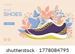 shoes concept flyer  web banner ...