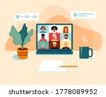 illustrations flat design...   Shutterstock .eps vector #1778089952