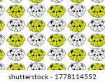 colorful pattern with hand... | Shutterstock .eps vector #1778114552
