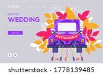 wedding car concept flyer  web...