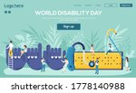 world disability day website...