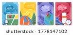 tourism brochure flyer ... | Shutterstock .eps vector #1778147102